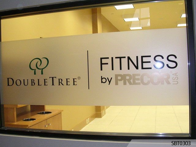 Double Tree Fitness Center Window Graphics