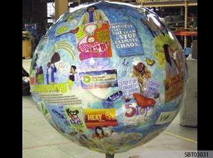 Globe Interior Vinyl Lettering & Graphics