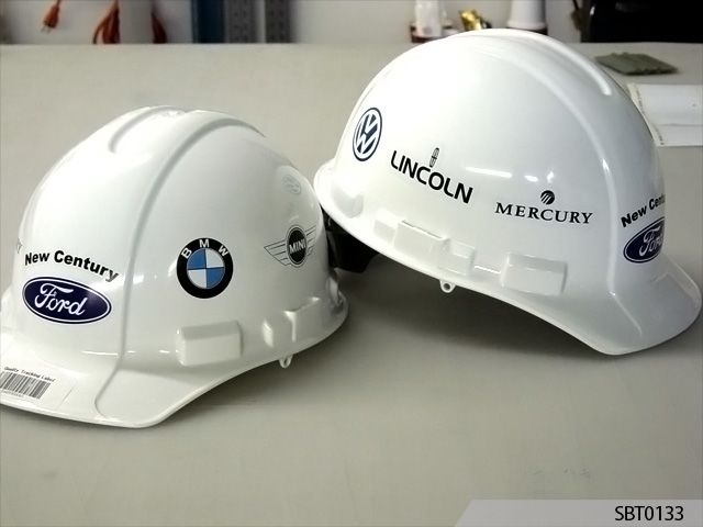 Labels for helmets - office signs - Signs By Tomorrow