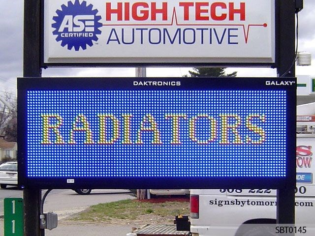 Automotive Service Outdoor LED Display