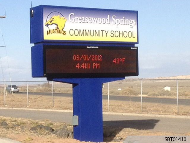 School Custom LED Display