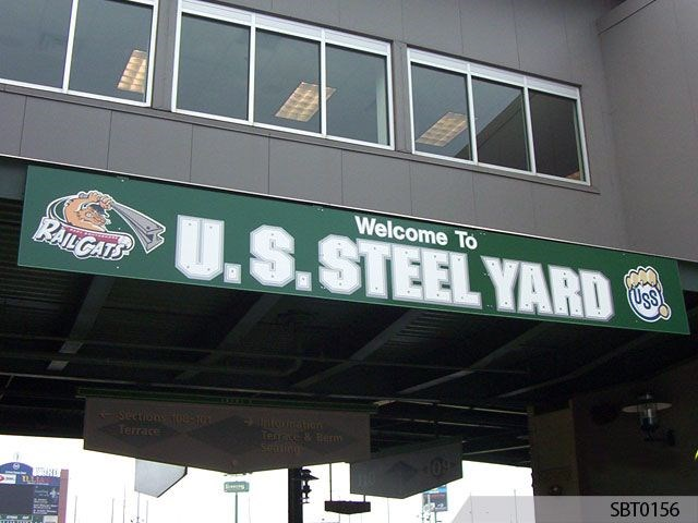 Baseball Stadium Sign