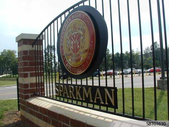 Sparkman Custom Monument Sign