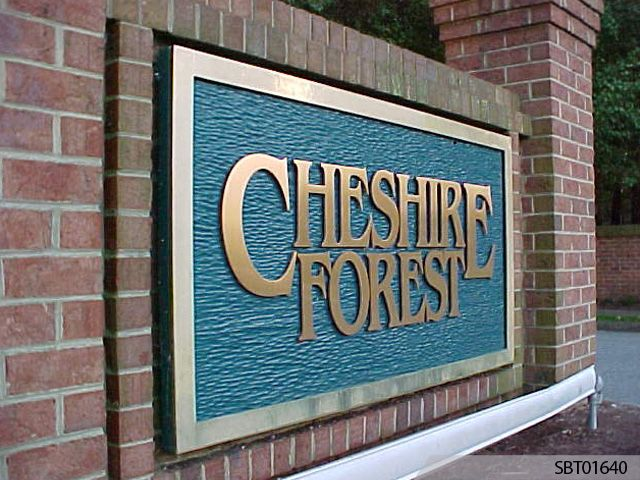 Cheshire Forest Custom Monument Sign