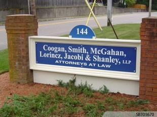 Attorney Custom Monument Sign