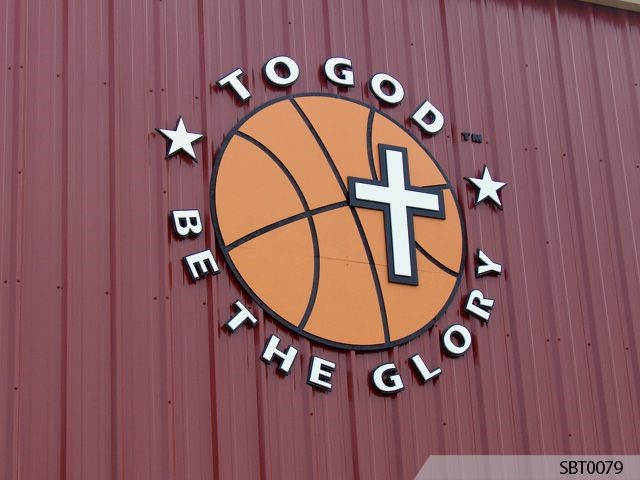 Church Exterior Dimensional Lettering