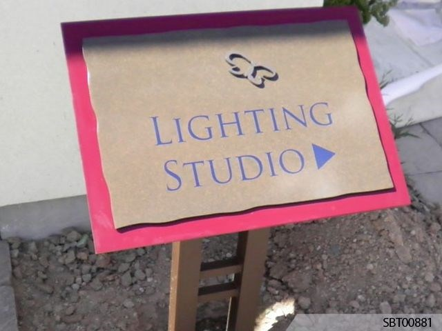 Studio Custom Exterior Directory Sign