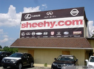Car Dealership Fabric Banner