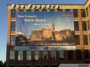 New Property Building Fabric Banner