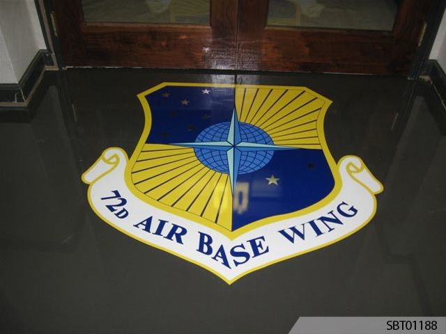Airforce Outdoor Floor Graphics