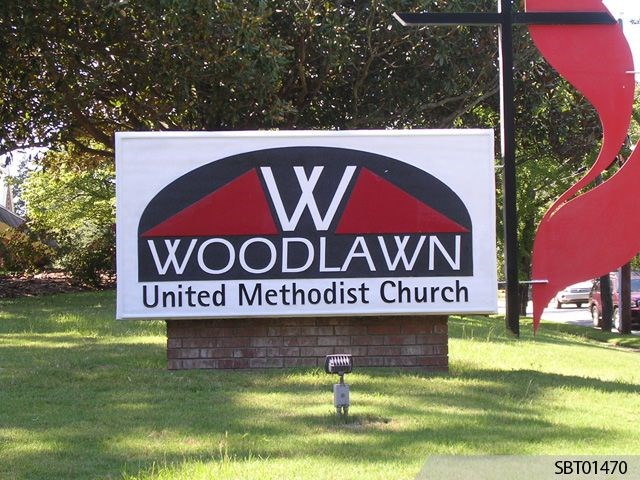 Church Custom Outdoor Lightbox Display
