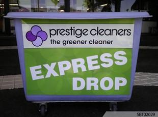 Prestige Cleaners Custom Outdoor Plastic Sign