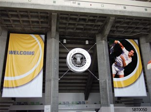 Tennis Tournament Event Pole Banners