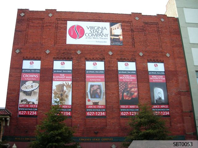 Theater Company Pole Banners