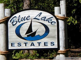 Outdoor Sandblasted Sign