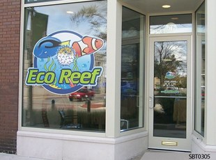 Retail Window Logo & Decal