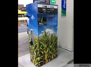 Custom Gas Pump Wrap