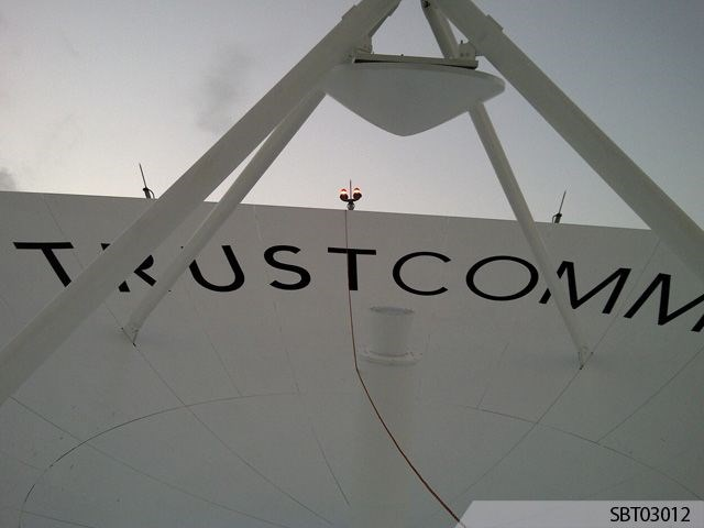 Custom Satellite Lettering