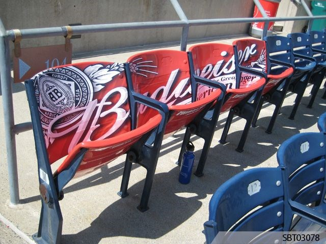 Custom Stadium Seat Graphics
