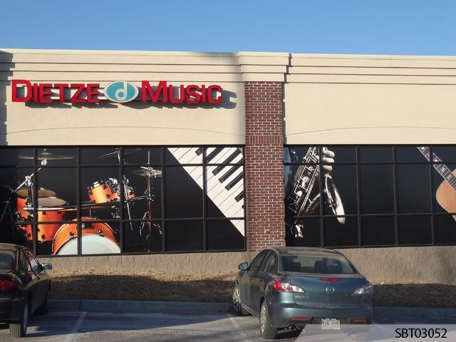 Outdoor Vinyl Window Graphics Lettering Signs By Tomorrow - Custom vinyl decals madison wi