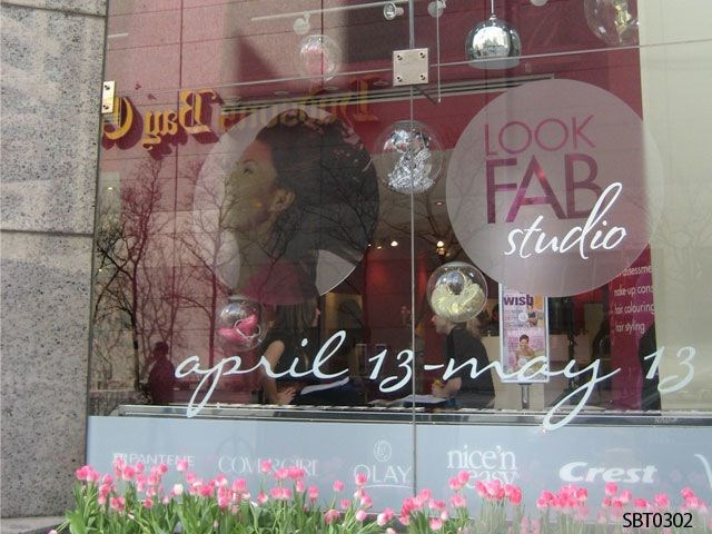 Event Window Lettering