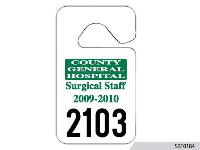 Hospital Parking Permit
