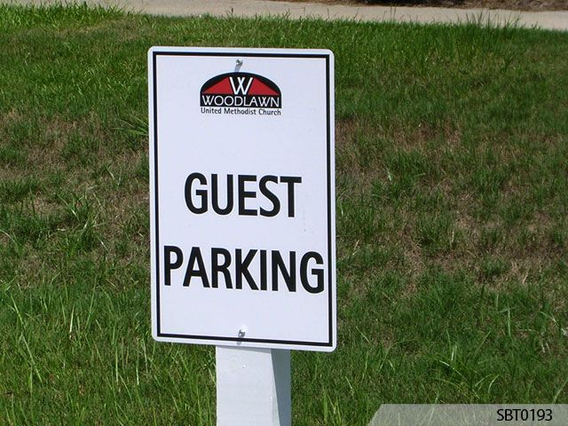 Guest Parking Sign - Signs by Tomorrow
