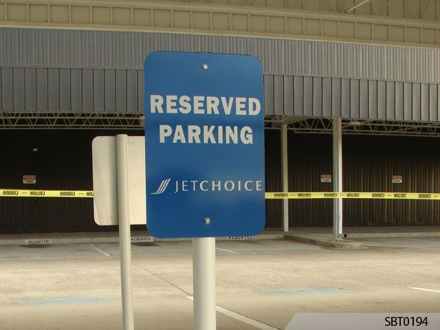 Jetchoice Airport Parking Sign