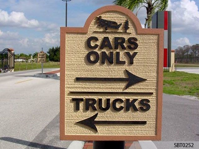 used monument sign custom signs digital printing graphics signage displays and