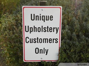 Retail Custom Parking Sign