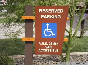 Custom Handicap Parking Sign