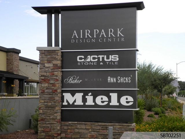 Airpark Custom Pylon Sign