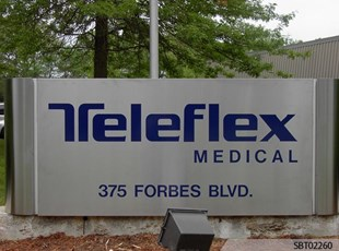 Teleflex Custom Pylon Sign