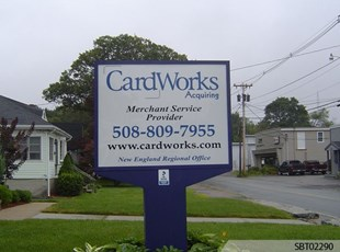 Cardworks Custom Pylon Sign