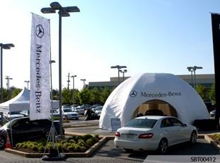 Mercedes Benz Tent