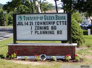 Township Track Lettering