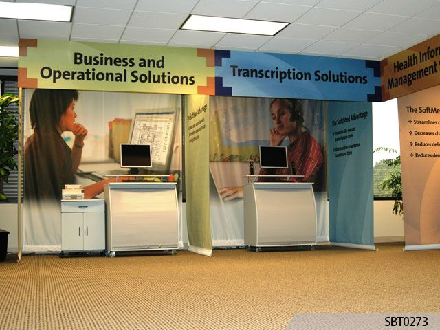 Exhibition Booth Signage : Custom trade show booths signs by tomorrow corporate