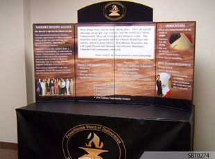 Church Table Top Booth