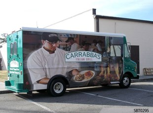 Carrabas' Vehicle Wrap