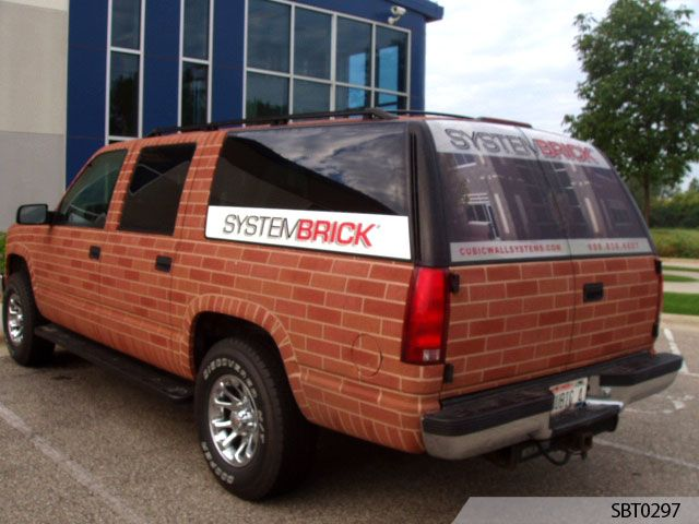 Brick Vehicle Wrap