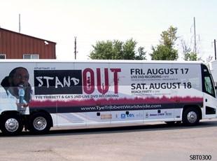 Concert Bus Wrap