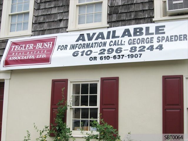 Real Estate Vinyl Banner