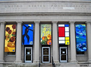 Post Office Vinyl Banners