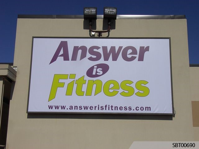 Fitness Custom Outdoor Banner