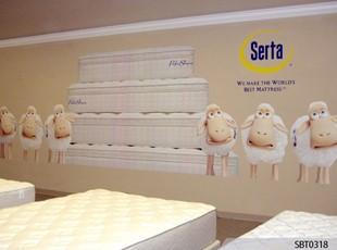 Serta Retail Wall Wrap