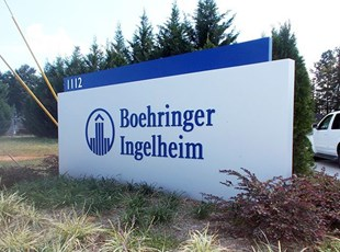 Boehringer Ingelheim Monument Sign
