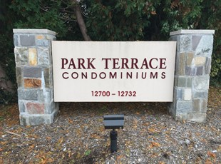 Property Management Condominiums Monument Sign