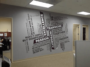 Interior Signs Wall Decals