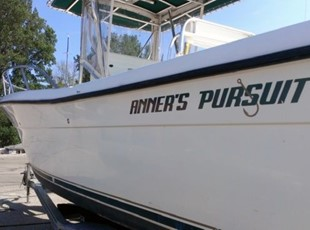 Anna's Pursuit Boat Graphic