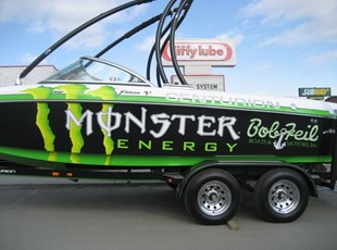 Monster Energy Boat Graphic